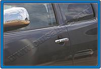 Toyota Hilux Молдинг стекол (4 шт, нерж)