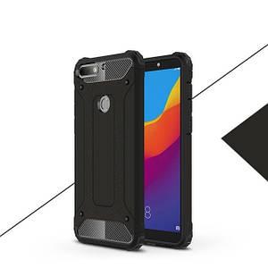 "Чехол Guard для Huawei Y7 / Y7 Prime 2018 5.99"" Бампер бронированный Black"