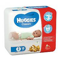 Подгузники Huggies Classic 2 (3-6 кг) Смол 18шт