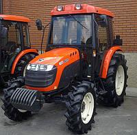 Коммунальный трактор KIOTI DK551C с кабиной, с кондиционером, с отопителем, с СD-радио-MP3-AUX магнитолой