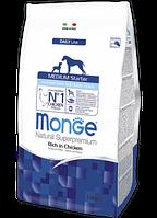 Monge Medium Starter for Mother and Baby корм для кормящих сук и щенков средних пород, 15 кг