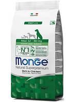 Monge Maxi Puppy & Junior корм для щенков крупных пород, 0.8 кг