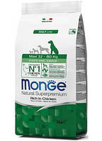 Monge (Монж) Maxi Puppy & Junior сухой корм для щенков крупных пород, 15 кг