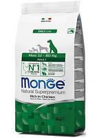 Monge (Монж)  Maxi Adult сухой корм для взрослых собак крупных пород, 3 кг