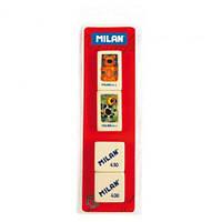 Комплект резинок Milan, 2х436A + 2x430, блистер