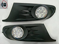 Volkswagen Golf 6 Противотуманки с вставками LED