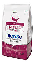 Monge (Монж) Indoor Rich in Chicken корм для кошек, живущих в помещении, 10 кг