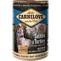 Carnilove Salmon & Turkey консервы для собак с лососем и индейкой