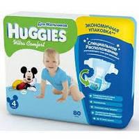 Подгузники Huggies Ultra Comfort 4+ для мальчиков (60 штук)