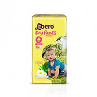 Подгузники Libero Dry Pants размер 4 (34 шт.)