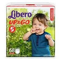 Подгузники Libero Up&Go размер 5 (68 шт.)
