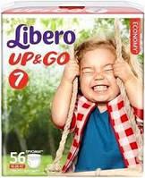 Подгузники Libero Up&Go размер 7 (56 шт.)