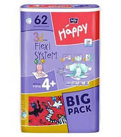 Bella Happy Maxi размер 4+  BIG PACK (62шт)