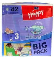 Bella Happy Midi размер 3 BIG PACK (82шт.)