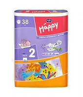 Подгузники HAPPY BELLA BABY Mini размер 2 (38шт).