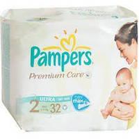 Pampers Premium Care размеры 2 (32 шт), 3 (27 шт), 4 (24 шт), 5 (21 шт)