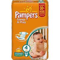 Pampers Sleep & Play размер 4 (68 штук)