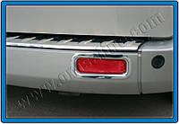 Ford Tourneo Custom Окантовка задних рефлекторов (2 шт, нерж.)