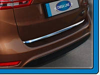 Ford C-max 2010 Кромка багажника (нерж.)