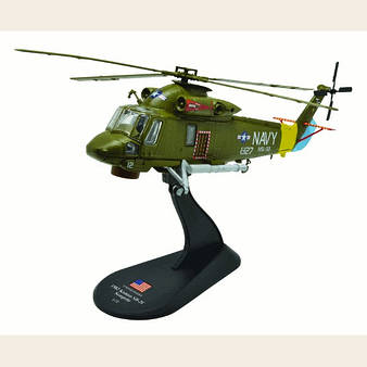 Модель Вертолеты Мира (Amercom) №52. Kaman SH-2F Seasprite в масштабе 1:72