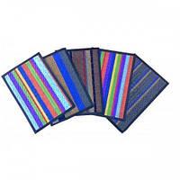 Придверный коврик Борт цветной 45*75
