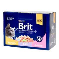 Brit Premium Cat Family Plate набор влажных кормов для кошек