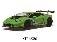 Машина металл KINSMART KT5389W 96шт4 Lamborghini Huracan LP-620-2 STв коробке 1687,5с