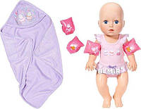 Интерактивная кукла BABY BORN ANNABELL Научи меня плавать Оригинал Бэби борн 700051, фото 1