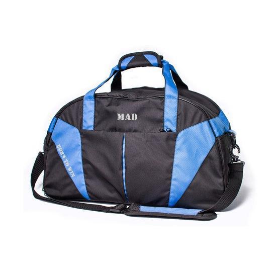 caff5746 Вместительная спортивная сумка с карманом для обуви 42L CrossPorter черный  с синим от MAD | born