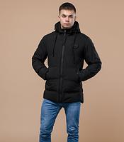 Куртка молодежная Braggart Youth черного цвета топ реплика