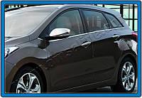 Hyundai I30 2012 Накладки на зеркала (под поворот)