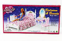 Мебель Gloria 2319 36шт3 для спальни, кровать, туалетный столик,…в кор.33,216,55см