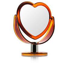 Зеркало косметическое №2103, настольное, фото 2
