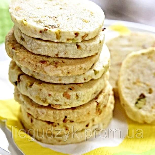 Печиво пісочне з насінням для брендування та декорування [коло]