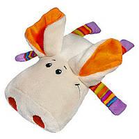 Свинка Плюша бежевая, 18 см, «FANCY» (SPL0-3)