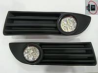 Volkswagen Polo (2003-2009) Противотуманки (LED-диоды)