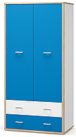 Шкаф 2Д2Ш Лео  (Мебель-Сервис) 1018х576х2088мм
