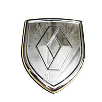 RENAULT LOGAN Накладка - логотип (нерж.)