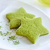 Печиво пісочне з чаєм Матча для брендування та декорування  [зіронька], фото 1