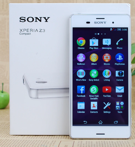 "Оригинальный телефон Sony Xperia Z3 Compact 4.6"" / Snap 801 / 2 / 16Гб / 21Мп Sony /IP68/ 2600мАч /"