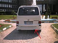 Накладка на задний бампер (под покраску) Транспортер Т4