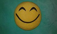 "Подушка смайл Emoji 35 см ""Счастлив"""