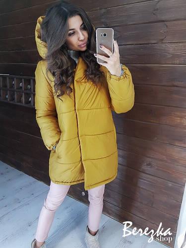 Зимняя женская куртка зефирка хит сезона