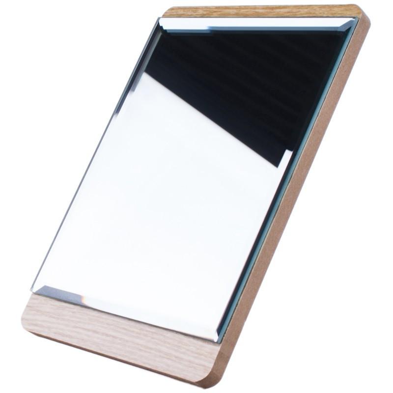 Зеркало для макияжа Cosmetic mirror №R-32, деревянное