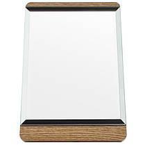 Зеркало для макияжа Cosmetic mirror №R-32, деревянное, фото 2