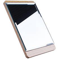Зеркало для макияжа Cosmetic mirror №R-32, деревянное, фото 3
