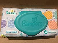 Влажные салфетки Pampers Fresh Clean с пластиковым клапаном