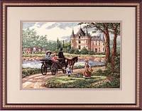 Набор для вышивания DIMENSIONS «M'Lady's Chateau • Леди Шато» 03790