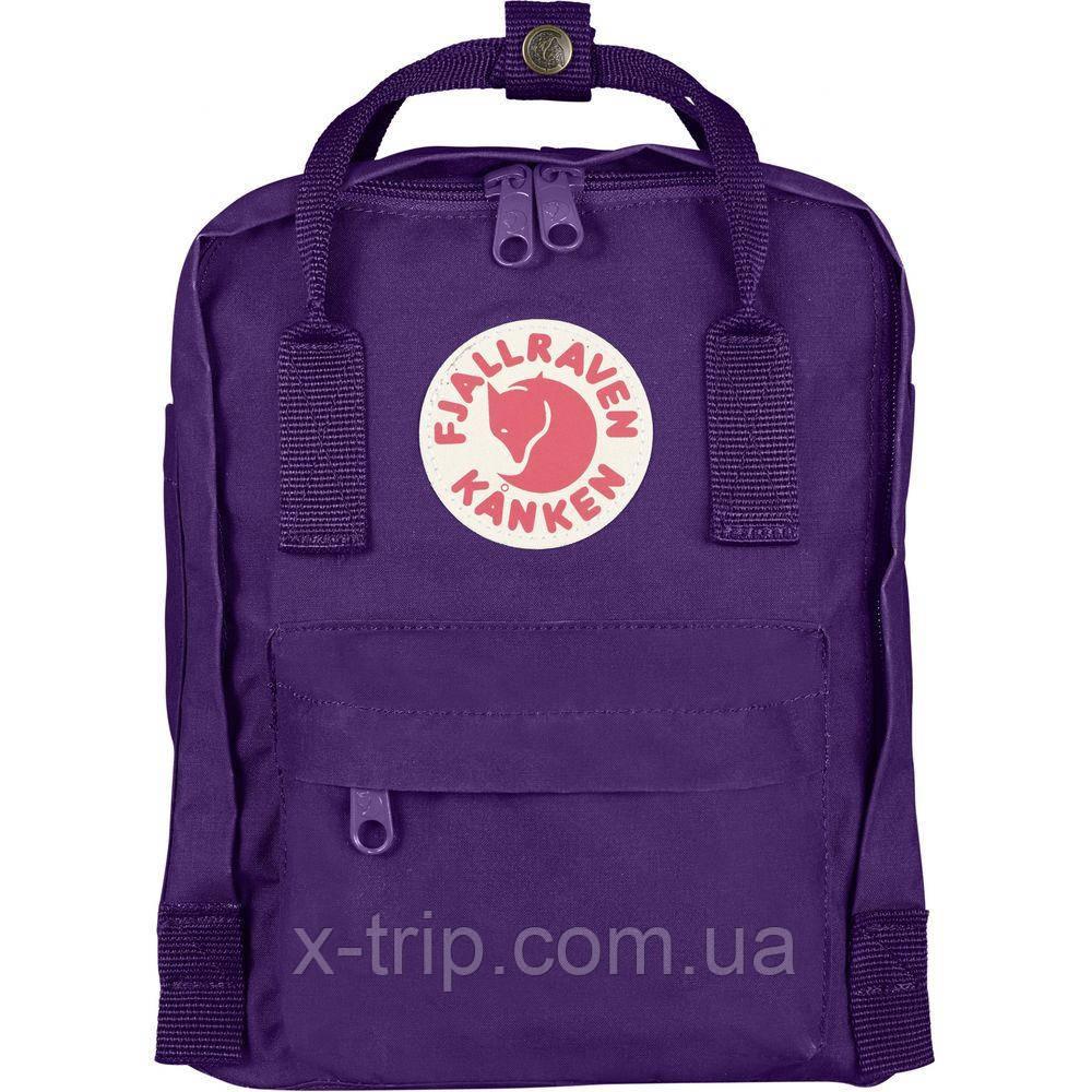 Детский рюкзак Fjallraven Kanken Kids 7 л PURPLE (580)