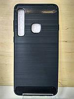 Силиконовый черный противоударный чехол Xiaomi Mi Max 3